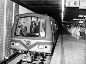 Nea Nicu si Lenuta se plimba cu... metroul. Rima era la Canal