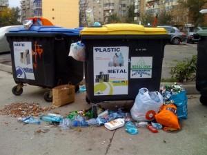 Containere debordand de grija fata de mediu