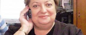 Doamna Trasculescu, intr-una din ocaziile in care ma mintea cu zambetul pe buze