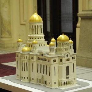 Macheta catedralei, de pe site-ul Patriarhiei
