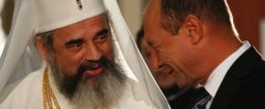 Traian Băsescu și Preafericitul Daniel -Mediafax-foto