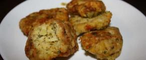 Chiftele cu legume si branza