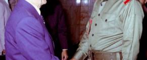 Ceausescu si Sadam, despre morti numai de bine