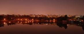 Orasul văzut din Parcul Tineretului