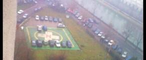 Parcare de coma la Spitalul Municipal