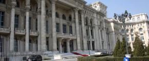 Palatul Parlamentului, se intra pe baza de liste