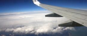 Din avion Romania se vede bine