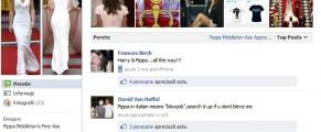 Societatea aprecierii curului Pippei, pe Facebook