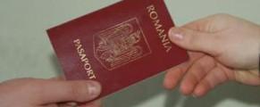 Pasaport de Romania
