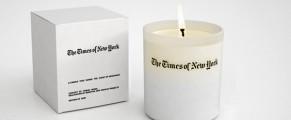 Lumanare cu aroma de NYT