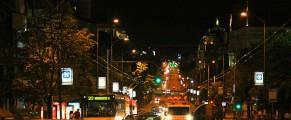 Trafic in Belgrad