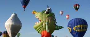 A venit vacanta cu balonul din Franta