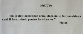 Platon la școala de nurse