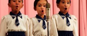 Copii nord-coreeni, pionieri sau soimi ai patriei
