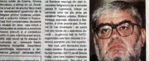 Plesu, criticat in presa romana ca sustine bombardarea Iugoslaviei de Pasti