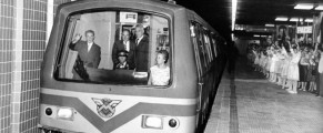 Ceausescu si metroul - foto Agerpres