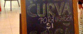 Curva e portugheză, Grasa e româncă