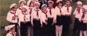 Noi, în 1976, pionieri la Doftana