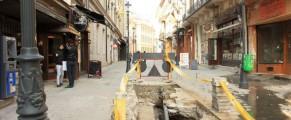 Centrul istoric reparat a doua oară