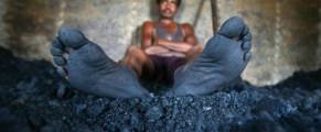 Un miner obosit - sursa foto Der Spiegel