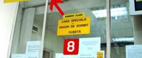 Busniss class la Gara de Nord din București