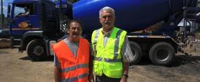 Fostul director al metroului, Gheorghe Udriste, și Dorel