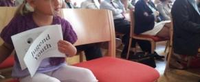 O tânără de viitor la forumul din Alpbach