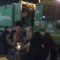 Gunoierii lui Prigoană petrec în fiecare seară în Centrul istoric
