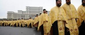 Procesiune religioasă în București