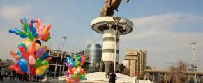 Alexandru cel Mare, statuia centrală din Piața Macedonia