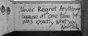 regrete