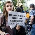 Cu mama la protest: dar oamenii ăștia nu au servici?