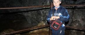 Vladis, ghidușul din Peștera Dâmbovicioarei