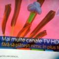 O măgărie High Definition de la Romtelecom