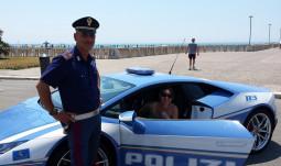 Noua achiziţie a poliţiei din Ostia romana