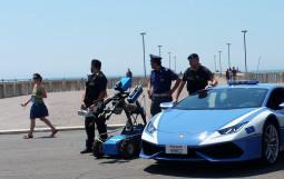 Polizia stradale  di Ostia romana