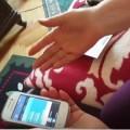 Mama, față cu touchscreen-ul