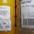 """Mega Image """"acrește"""" sucul de portocale"""