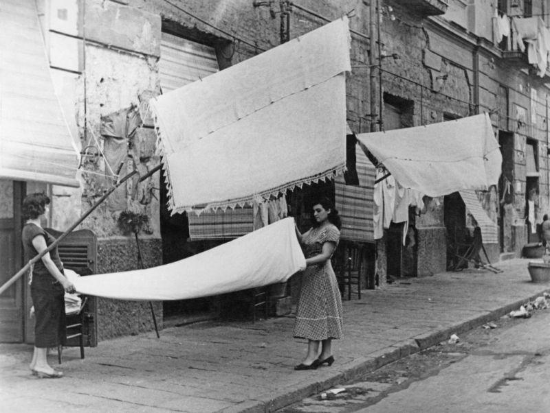 Napoli în anii 50-60 - foto Getty Images