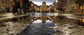 Vaticanul după ploaie