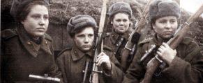 femei soldati rusoaice
