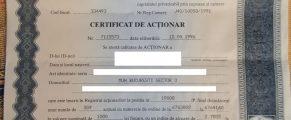 certificat actionar Miraj