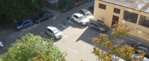 trasare locuri parcare